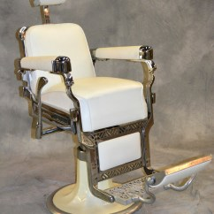 Kids Car Barber Chair Leather Cigar Recliner Beauty Props Accessories
