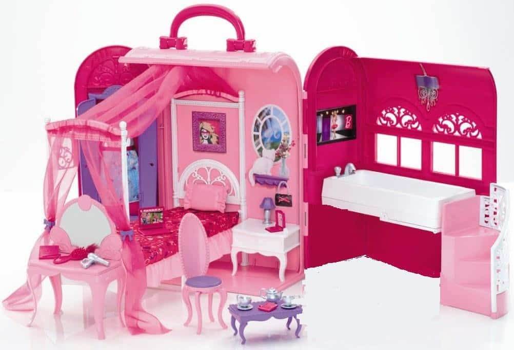 Barbie Bed & Bath Play Set