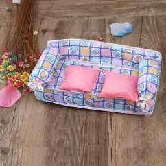 Dollhouse Sofa Base Covers Tinksky Lovely Miniature Furniture Flower Print
