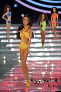 Miss Barbie Norflok Islands - Keliesa