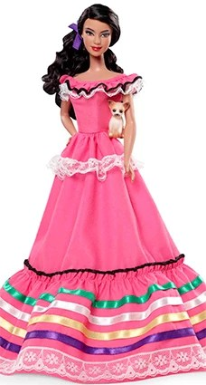 Barbie Collection Dolls of the World - Mexico