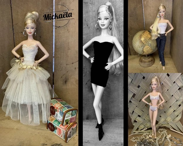 Miss Barbie Mickaela