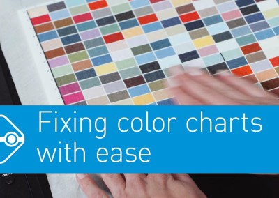 Video: Fixing textile charts with ease