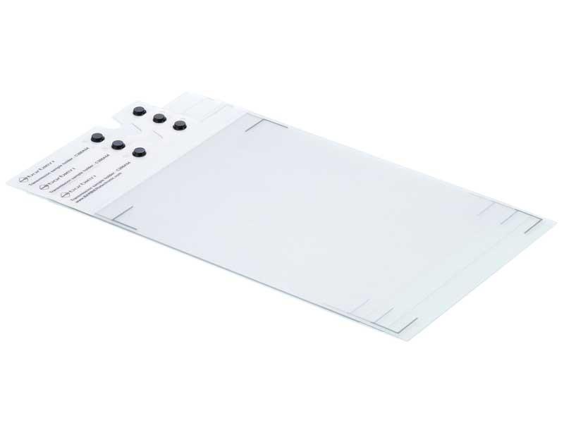 Set of 3 transmission / textile sample holders