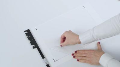 Sticky mat sample holder