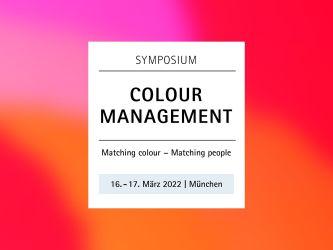 FOGRA Colour Management Symposium, March 16-17, 2022, Munich, Germany