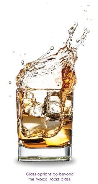 Rocks Glass for spirits tasting