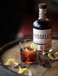 Russell Reserve Cold Brewed Boulevardier Cocktail Recipe