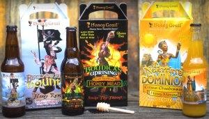 Honey Grail's Buccaneers' Bounty Honey Rum Cider Grog