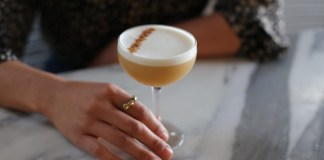 Norah's Pumpkin Spice Sour Cocktail recipe