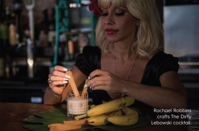 Rachael Robbins crafts The Dirty Lebowski cocktail