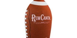 rumchata football bottle