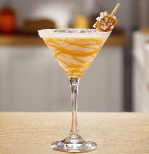 RumChata Salted Caramel Martini Cocktail Recipe