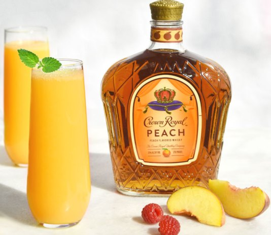 Crown Royal Peach Fizz Cocktail Recipe