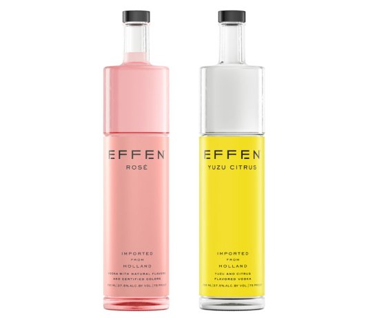 EFFEN Vodka Rosé and Yuzu Citrus