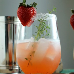 Strawberry Shrub Mimosa