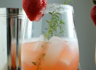 Strawberry Shrub Mimosa