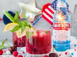 Smirnoff Americana Faux-Jito cocktail recipe
