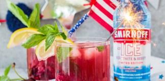 Smirnoff Americana Faux-Jito cocktail recipe