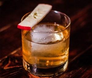 Bog Standard Caorunn Gin cocktail