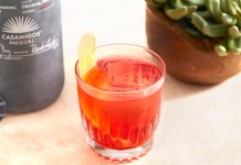 Casamigos Oaxacan Negroni cocktail recipe