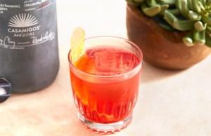Casamigos Oaxacan Negroni cocktail recipe
