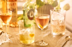 Plymouth Gin Rosé Fifty-Fifty cocktail recipe