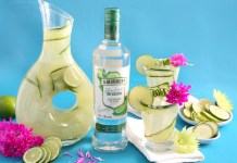 Smirnoff Vodka's Cucumber-Lime Agua Fresca