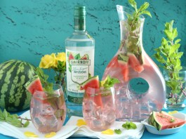 Smirnoff Vodka Mint Summer Splash Cocktail Recipe