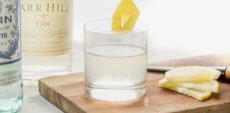 Barr Hill Gin's White Negroni cocktail recipe