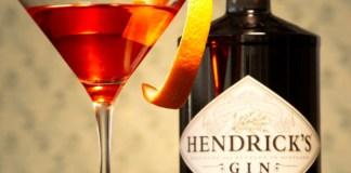 Hendrick's Gin Unusual Negroni Cocktail Recipe