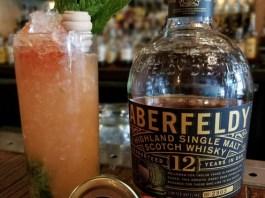Aberfeldy Mint & Honey cocktail recipe