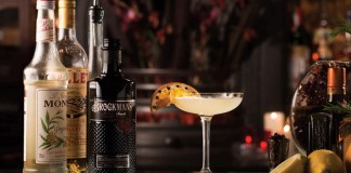 Brockmans Gin Autumn Reviver cocktail recipe