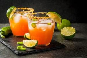 Annas Kitchen Shrubs Spicy Margarita