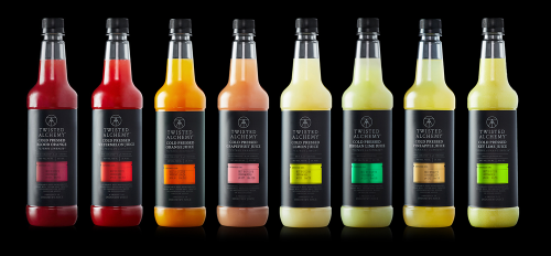 Twisted Alchemy juices