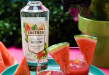 Smirnoff Watermelon Party Punch cocktail recipe