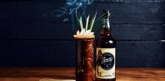 Sailor Jerry Ginger's Apple Cooler Tiki cocktail recipe