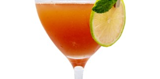 Monin Guayaba Fizz cocktail recipe