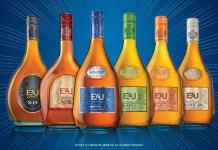 E&J Brandy new packaging