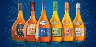 E&J Brandy new packaging