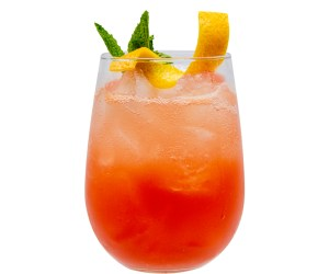 Monin Autumn Blood Orange Bitter cocktail recipe