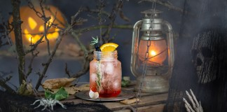 The Bitter Truth Repellent to Vampires halloween cocktail recipe