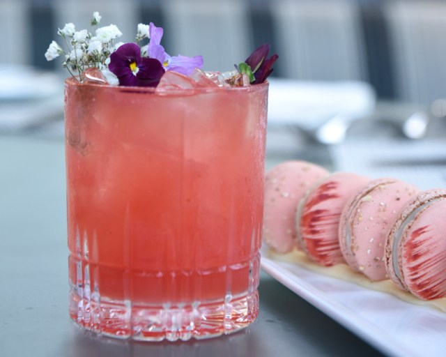 Save a Pair cocktail recipe breast cancer
