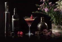 Brockmans Gin Forest Gâteau Martini Cocktail recipe