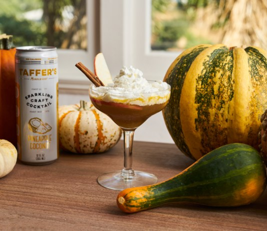 Taffer's Mixologist Sparkling Pumpkin Pineapple cocktail recipe