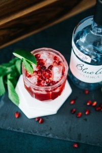 Pomegranate Fizz cocktail recipe