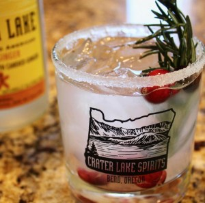 Crater Lake Spirits Under the Mistletoe cocktail recipe