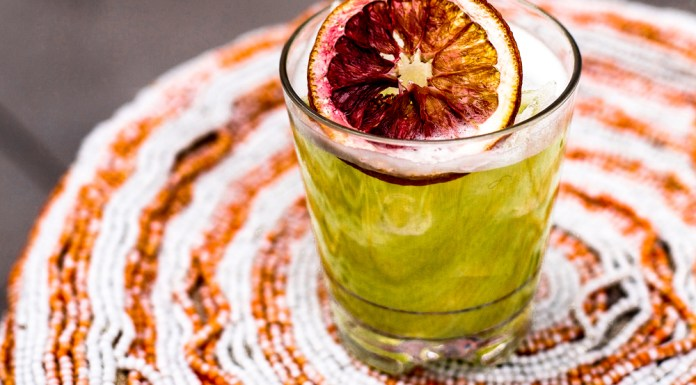 Cleo Fired Up Margarita cocktail recipe