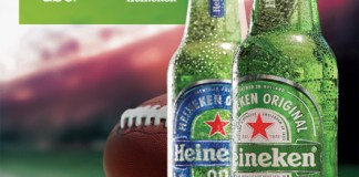 Heineken right call Uber NFL