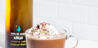 Milagro Tequila Spiced Hot Chocolate cocktail recipe